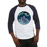 Polar Bear Baseball Jersey Arctic Art Shirt