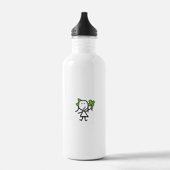 Girl & Clover Water Bottle