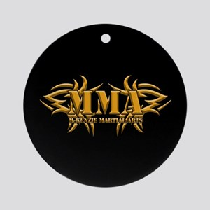 MMA Logo - Gold Ornament (Round)