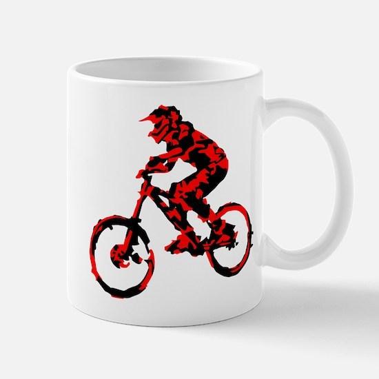 Cute Black mountain bike Mug