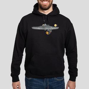 USS Enterprise Hoodie (dark)
