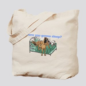 CBrNFNMtMrl Where sleep Tote Bag