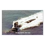 USS BLUEFISH Sticker (Rectangle)