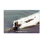 USS BLUEFISH Mini Poster Print