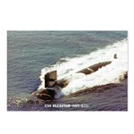 USS BLUEFISH Postcards (Package of 8)