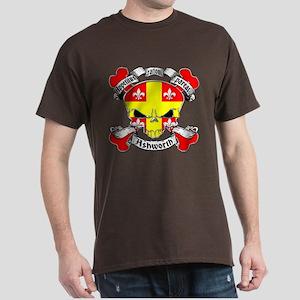 Ashworth Family Crest Skull Dark T-Shirt