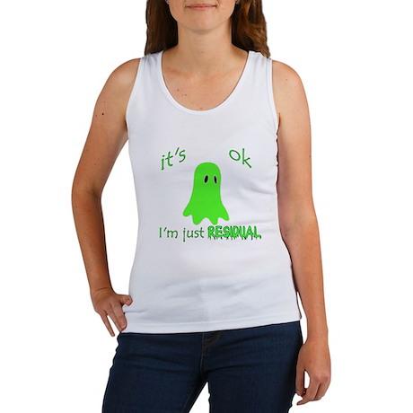 Just Residual Ghost Women's Tank Top