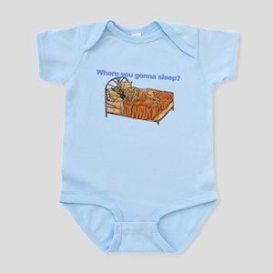 CBr Where you gonna sleep Infant Bodysuit
