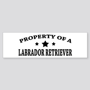 Property of Lab Sticker (Bumper)