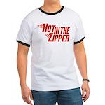 Hot in the Zipper Ringer T