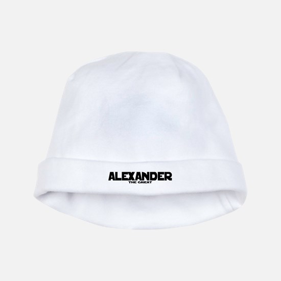 Alexander the Great baby hat