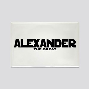 Alexander the Great Rectangle Magnet