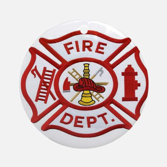 MALTESE CROSS FD Ornament (Round)