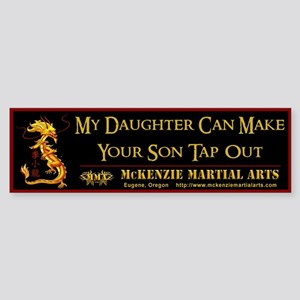 MMA - Daughter - Sticker (Bumper)