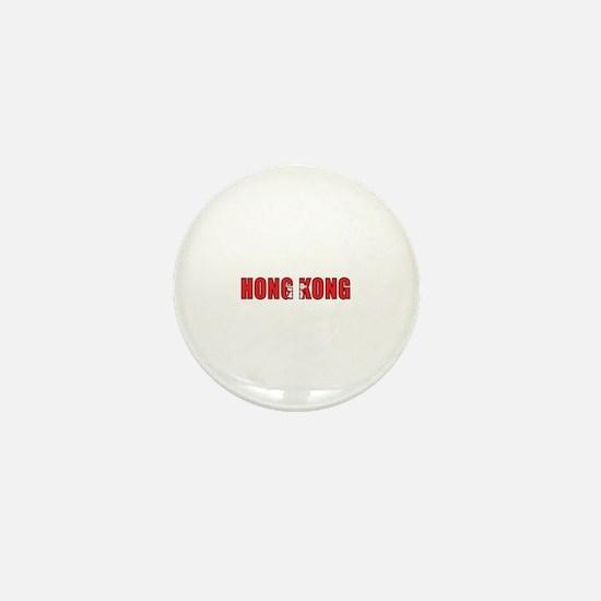 Hong Kong Mini Button