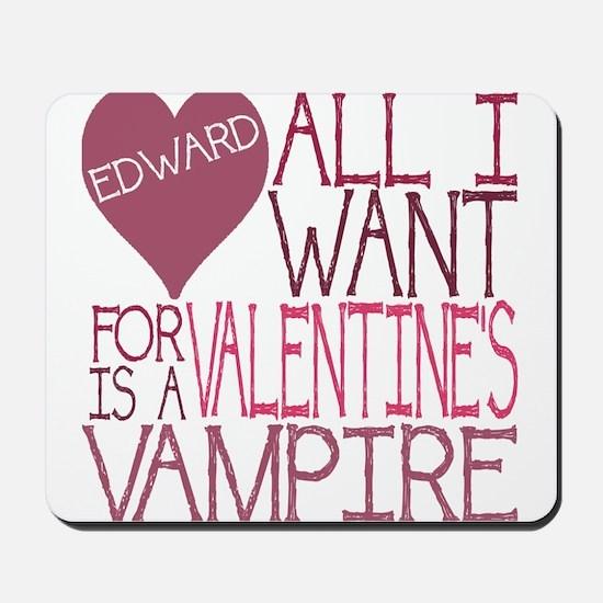 Edward Valentine Mousepad
