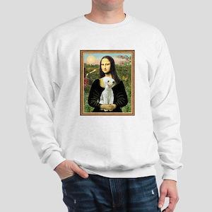 Mona & her Bedlington Sweatshirt