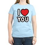 I LOVE YOU Women's Light T-Shirt