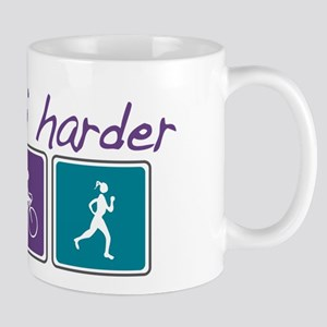 Girls Tri Harder Mug