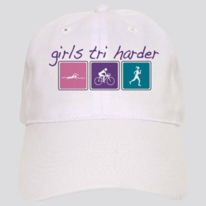 Girls Tri Harder Cap