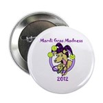 "Mardi Gras Madness 2.25"" Button (10 pack)"