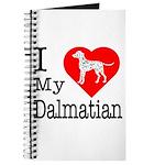 I Love My Dalmatian Journal
