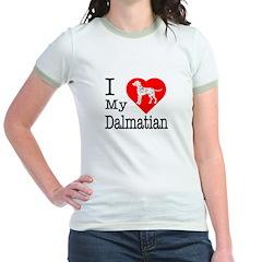I Love My Dalmatian T