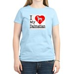 I Love My Dalmatian Women's Light T-Shirt