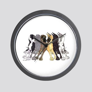 NC Split Show Wall Clock