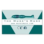 Muse's Muse Rectangle Sticker