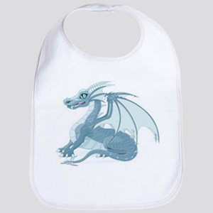 Blue Ice Dragon Bib