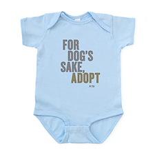 For Dog's Sake, Adopt Infant Body Suit