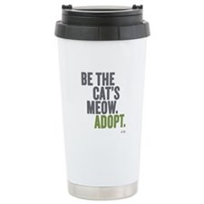 Be The Cat's Meow, Adopt Stainless Steel Mugs