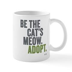 Be The Cat's Meow, Adopt Mug Mugs