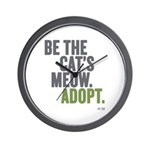 Be The Cat's Meow, Adopt Wall Clock