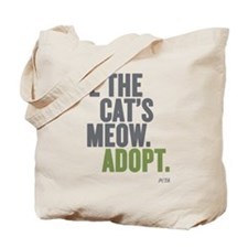 Be The Cat's Meow, Adopt Tote Bag