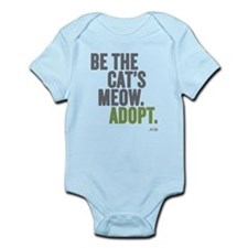 Be The Cat's Meow, Adopt Infant Body Suit