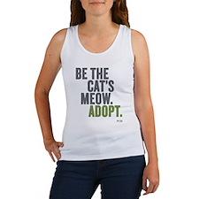 Be The Cat's Meow, Adopt Women's Tank Top