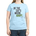 Be The Cat's Meow, Adopt Women's Light T-S