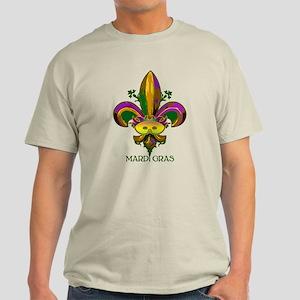 Masked Fleur de lis Light T-Shirt