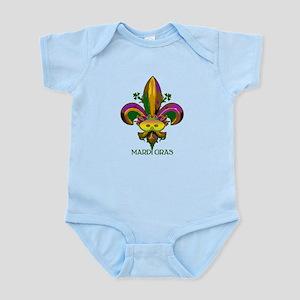 Masked Fleur de lis Infant Bodysuit