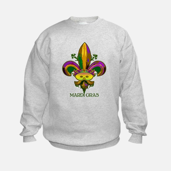 Masked Fleur de lis Sweatshirt
