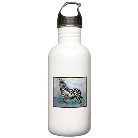 Zebra, colorful, Stainless Water Bottle 1.0L