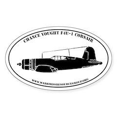 Profile Sticker #1: Chance-Vought F4U-1 Corsair