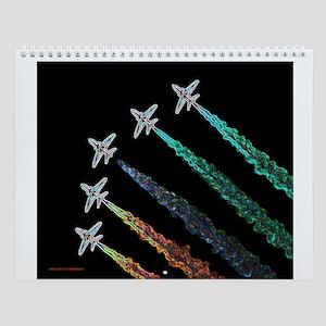 RAF Red Arrows Aero-Art Wall Calendar