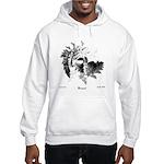 Fibonacci Bats Hooded Sweatshirt