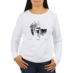 Fibonacci Bats Women's Long Sleeve T-Shirt