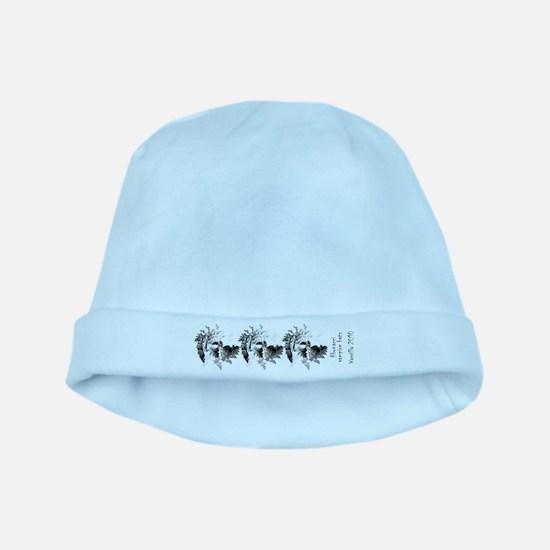 Fibonacci Bats baby hat