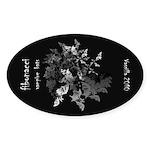 Fibonacci Bats Sticker (Oval)