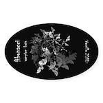 Fibonacci Bats Sticker (Oval 10 pk)
